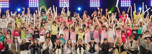 川崎市(かしまだ商店街)のダンススクール。ボイトレスクール。